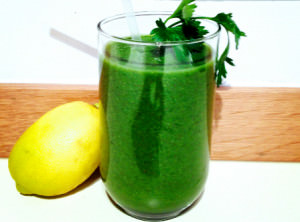 A Green Smoothie- the elixir of life
