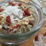 Detox breakfast overnight oats