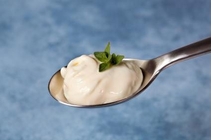 Mayonnaise- made with tofu photo