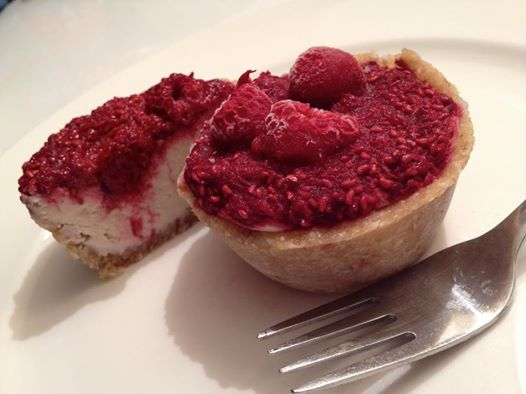 Raw Raspberry Tarts