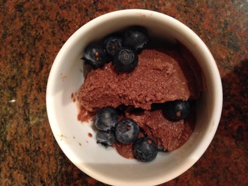 Chocolate Tahini Icecream