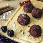 chocolate granola balls