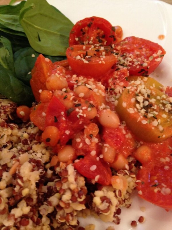 Tomato and Bean Cassoulet