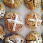 Easter Gluten Free Hot Cross Scones
