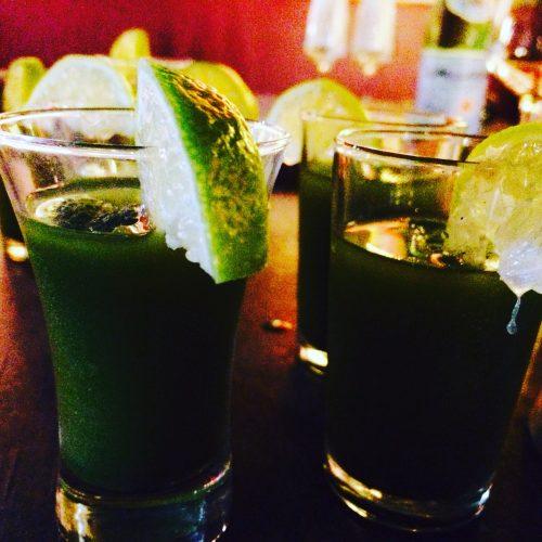 Matcha Lime Cordial