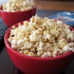Cheesy Chia Popcorn