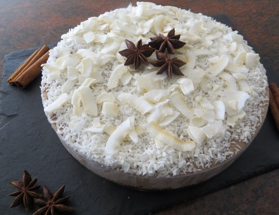 Chai Coconut Cake (Raw)